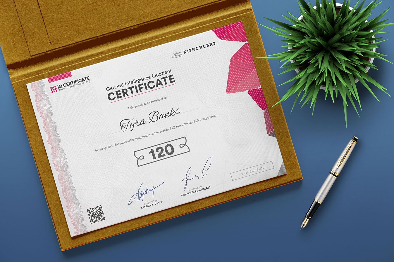 IQ Certification 2019