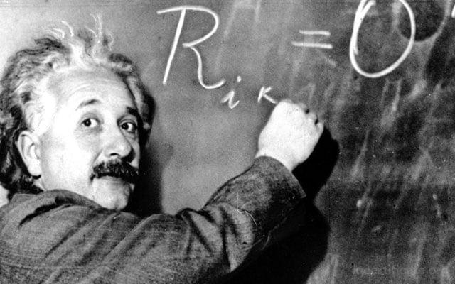 Albert Einstein IQ Score