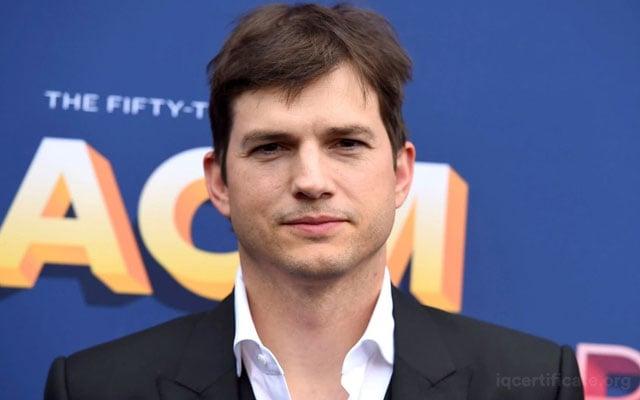 Ashton Kutcher IQ Score