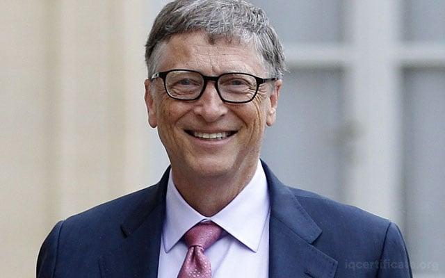 Bill Gates IQ Score