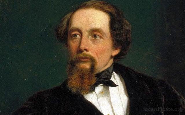 Charles Dickens IQ Score