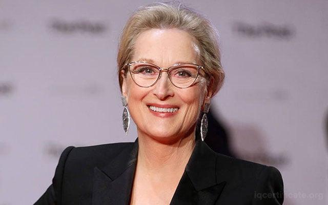 Meryl Streep IQ Score
