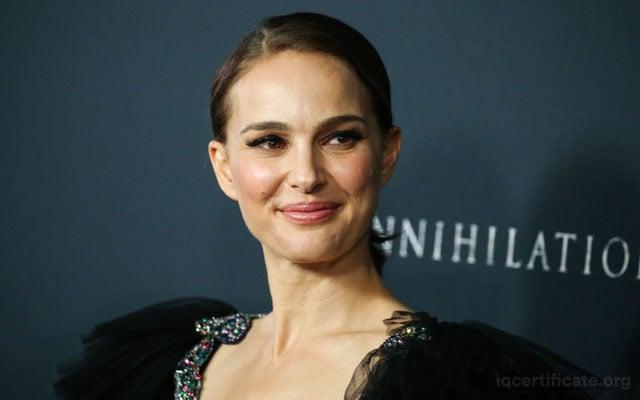 Natalie Portman IQ Score