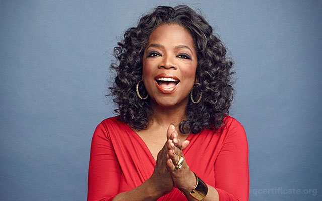Oprah Winfrey IQ Score