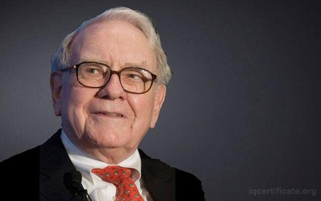 Warren Buffet IQ Score